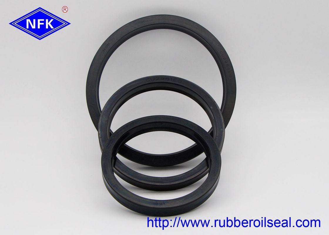 NOK Hydraulic Packing Rod Seals Rubber Material Durable For KOMATSU Excavator