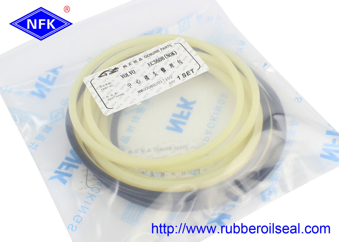 Durable Volvo Spare Parts / Excavator Center Joint Seal Kit EC360B EC460B EC480B EC290B
