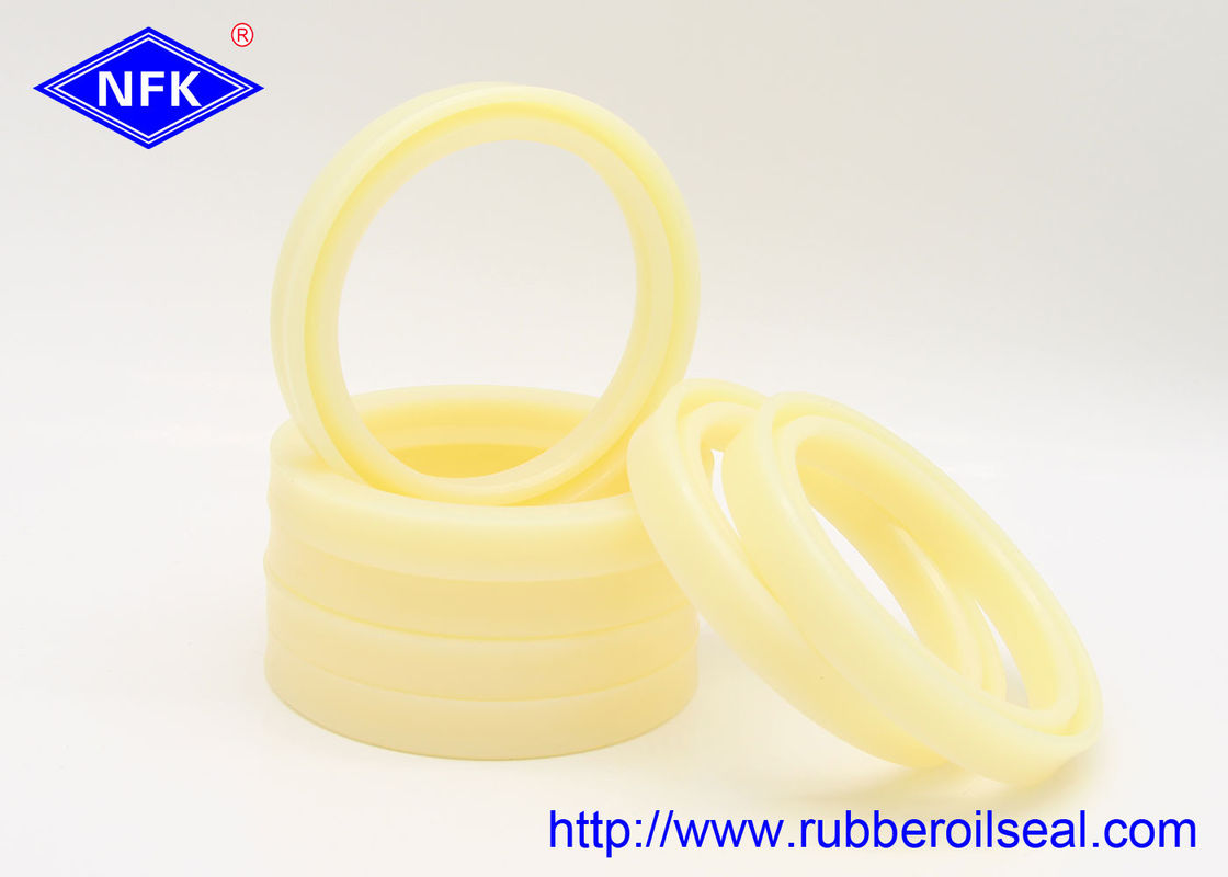 High Temp Hydraulic Rod Seals 60*75*9mm Size Yellow U801 Wear Resistant